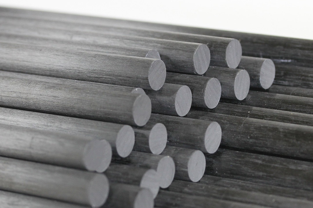 Carbon Fiber Rods Shapes